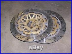 Suzuki gsf1200 bandit 1200 front brake rotors discs
