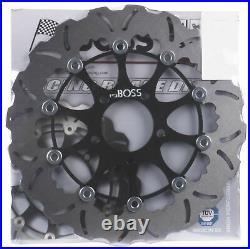 Tsuboss Motorcycle Front Brake Wavy Disc STX12D