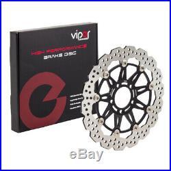 Viper Wavy Front Brake Discs For Suzuki 2007 GSF1250S Bandit K7 T33-F