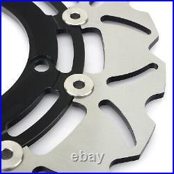 Wave Front Rear Brake Discs for SUZUKI GSX 650 F FA ABS 08-13 GSX1250FA 10-16